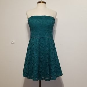 Lily Rose strapless dress